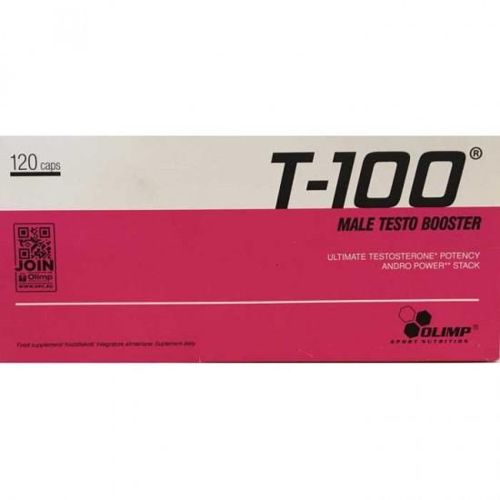 T-100 Male Testo Booster 120 caps - Olimp