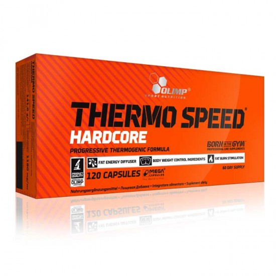 Thermo Speed Hardcore Olimp 120 κάψουλες / Λιποδιαλύτης