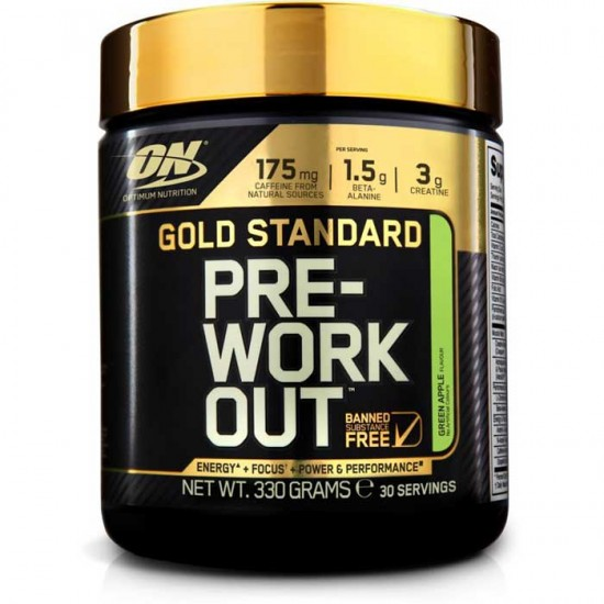Gold Standard Pre-Workout 330 gr - Optimum Nutrition