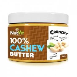 100% Cashew Butter 500γρ - Ostrovit Nutvit / Βούτυρο από Κάσιους