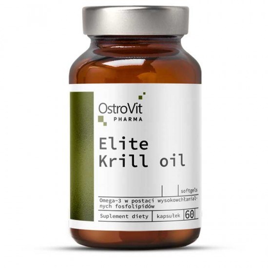 Elite Krill Oil 60 caps - OstroVit Pharma