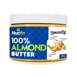 100% Almond  Butter 500γρ - Nutvit Ostrovit / Βούτυρο Αμυγδάλου
