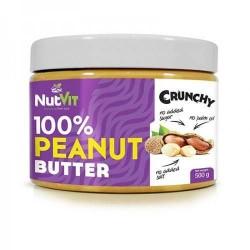 100% Peanut Butter 500gr - Nutvit Ostrovit / Φυστικοβούτυρο