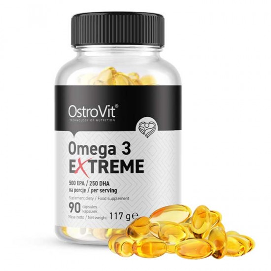 Omega 3 Extreme 90 caps 500 EPA / 250 DHA - OstroVit