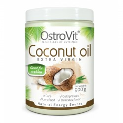 Coconut Oil Extra Virgin 900γρ - Ostrovit / Έλαιο Καρύδας