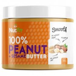 Peanut Butter plus Sesame 500γρ - Ostrovit Nutvit / Φυστικοβούτυρο με Σουσάμι