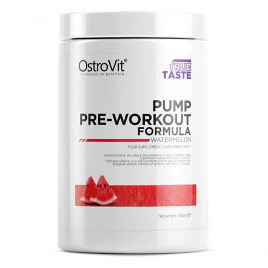 Pump Pre-Workout Formula 500γρ - Ostrovit / Προεξασκητικό