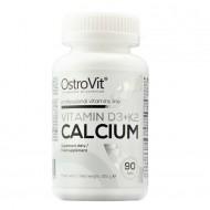 Vitamin D3 + K2 + Calcium 90 tabs - Ostrovit