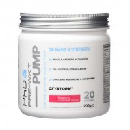 Pre-Wkt Pump 200gr - PhD Nutrition