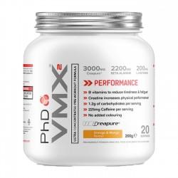 VMX2 Pre-Workout Formula Creapure 200γρ - PHD / Προ-Εξασκητικό Ειδικό Συμπλήρωμα