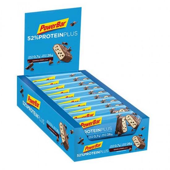 52% Protein Plus bar 20x50γρ - PowerBar / Μπάρα Πρωτεϊνης