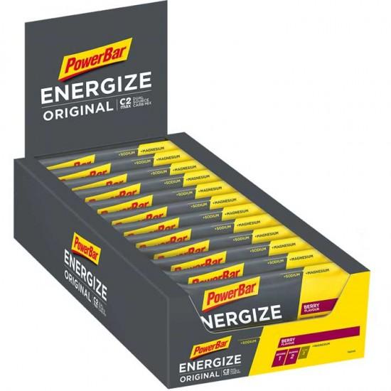 Energize Original Bar 25x55g - Powerbar / Μπάρα Ενέργειας