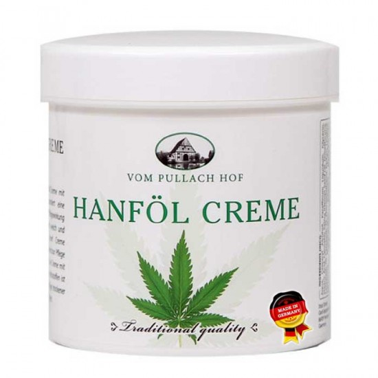 Κρέμα με έλαιο Κάνναβης 250 ml - Pullach Hof / Hanföl Creme