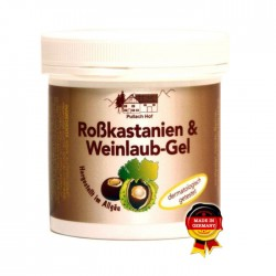 Κρέμα Κάστανο - Αμπέλι 250ml Pullach Hof / Κρέμα Ποδιών
