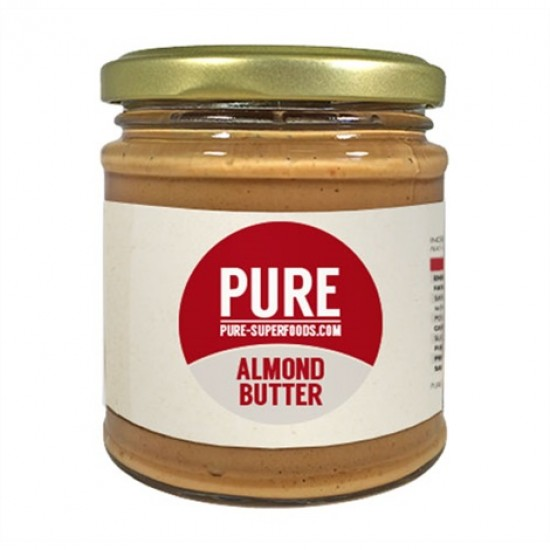 Natural Organic Almond Butter 170γρ Οργανικό Βούτυρο Αμυγδάλου - Pure / Υγιεινές Τροφές