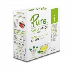 Sweet Touch Green Stevia  80 sticks  (80gr) - Pure / Στέβια