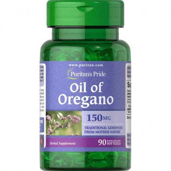 Oil of Oregano 150mg 90 softgels - Puritans Pride