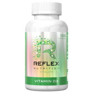 Vitamin D3 2000 I.U, 100 κάψουλες - Reflex Nutrition / Βιταμίνη D3