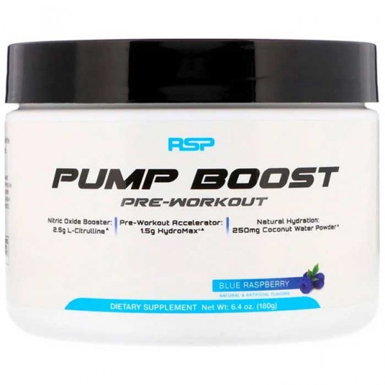 Pump Boost Pre-Workout 180g - RSP Nutrition