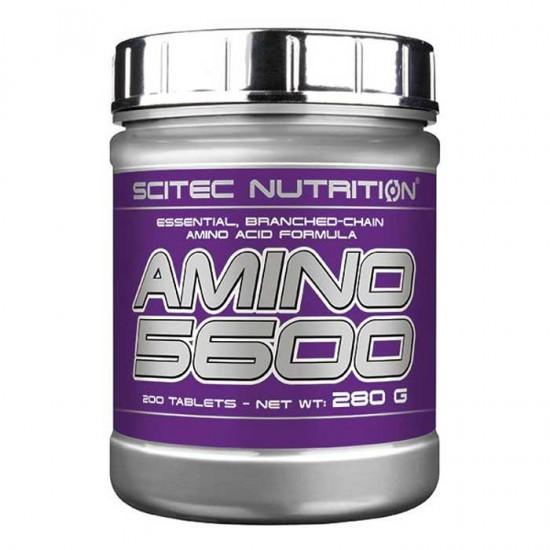 Amino 5600 200 tabs - Scitec / Αμινοξέα