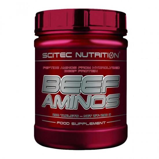 Beef Aminos 200 tabs - Scitec  / Αμινοξέα Βοδινού