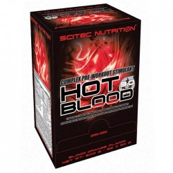 Hot Blood 3.0 box 20gr - Scitec / Προεξασκητικό