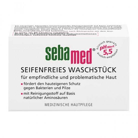 Cleansing Bar for Sensitive/Problematic Skin 150gr - Sebamed (Seifenfreies Waschstück)