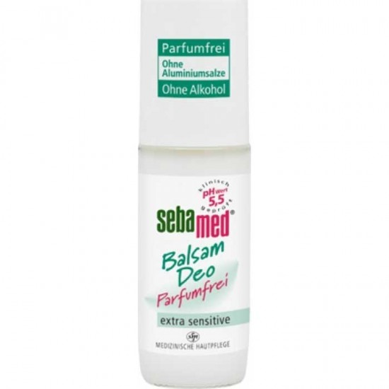 Deo Roll-On Balm 50ml Fragrance Free - Sebamed (extra sensitive)