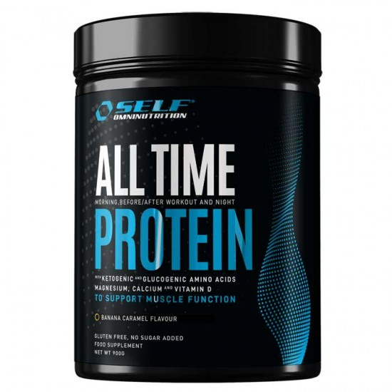 All Time Protein 900gr - SELF Omninutrition / Πρωτεΐνη 80% (whey,egg,casein,hydrolyzed)