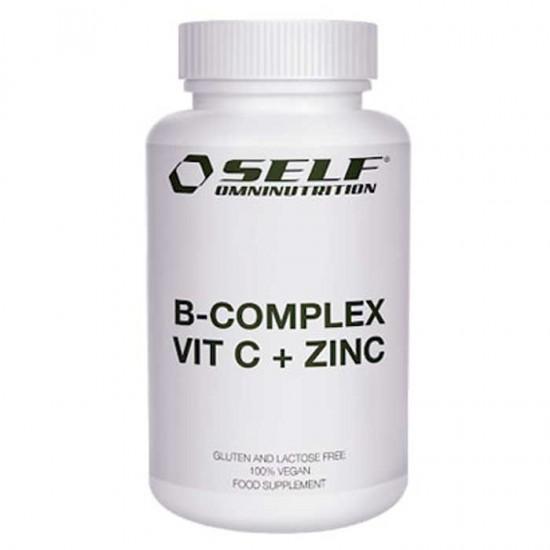 B Complex Vit C + Zinc 60 caps - Self Omninutrition