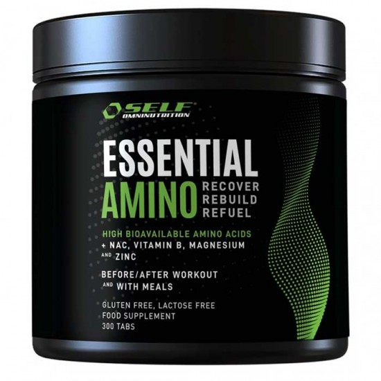 Essential Amino 300 tabs - Self Omninutrition