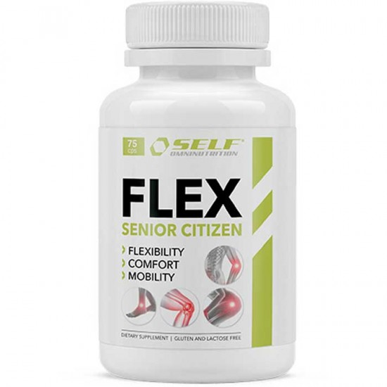 Flex Senior Citizen 75 Caps - Self Omninutrition / MSM Αρθρώσεις