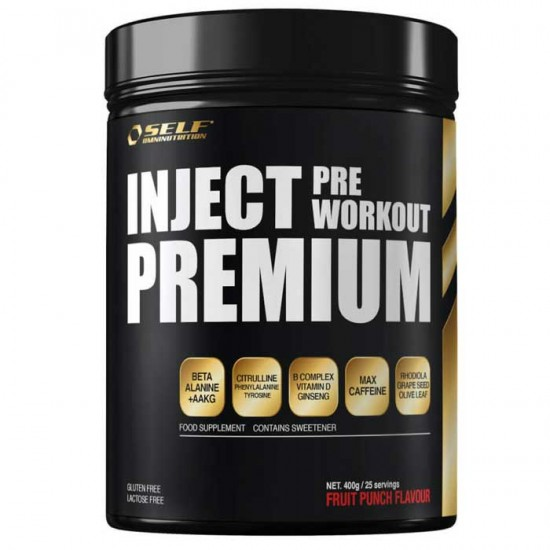 Inject Pre Workout Premium 400g - Self Omninutrition / Προεξασκητικό