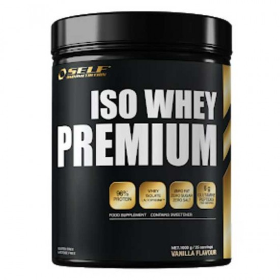 Iso Whey Premium 1kg - SELF Omninutrition / Πρωτεΐνη Γράμμωσης 96%