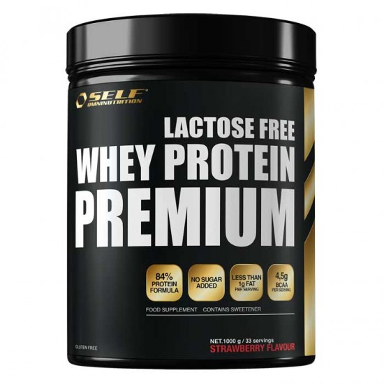 Lactose Free Whey Premium 1kg - SELF / Πρωτεΐνη 84% Χωρίς Λακτόζη