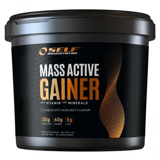 Mass Active Gainer 4kg - Self Omninutrition