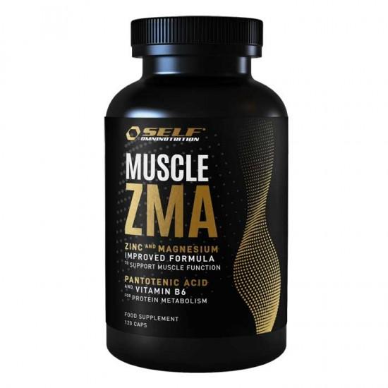 Muscle : ZMA 120 κάψουλες - Self / ΖΜΑ Ειδικά Συμπλήρώματα