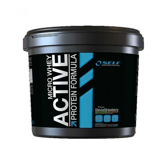 Micro Whey Active 1 kg Stevia - Self /  Πρωτείνη 84% με Στέβια