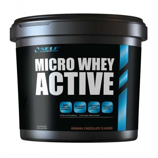 Micro Whey Active 1kg - Self / Πρωτεΐνη Γράμμωσης 84%
