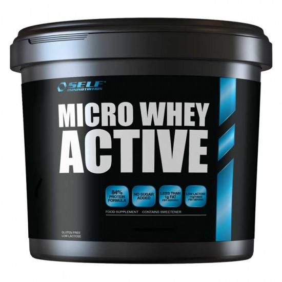Micro Whey Active 4Kg - SELF / Πρωτεϊνη Γράμμωσης 84%