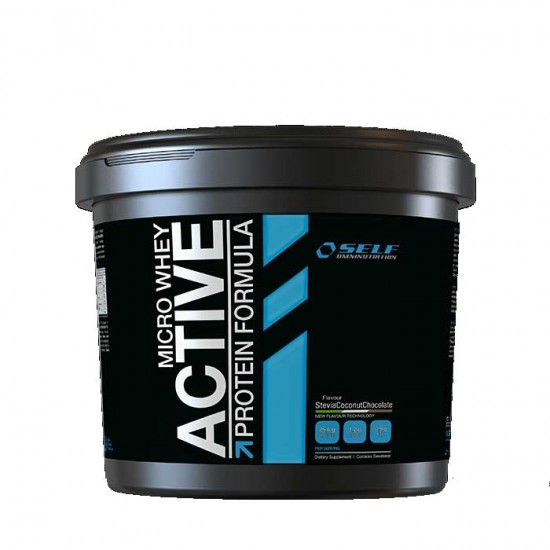 Micro Whey Active 4 kg Stevia - Self / Πρωτείνη Γράμμωσης Στέβια