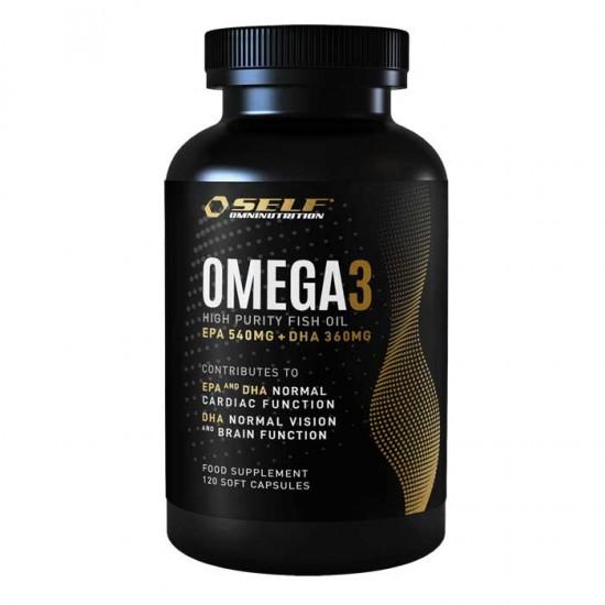 Omega 3 Fish Oil 120 κάψουλες - Self / Λιπαρά Οξέα