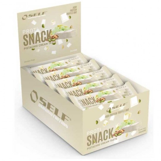 Proti Snack Protein Bar 24x45gr - Self Omninutrition / Μπάρα Πρωτεΐνης