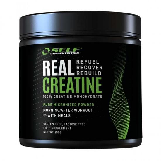 Real 100% Creatine Powder Monohydrate 250gr - SelfF / ΚΡΕΑΤΙΝΗ