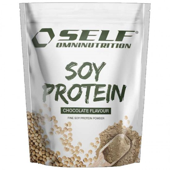 Isolate Soy Pro Vegetarian Protein 1kg Self - Πρωτεΐνη Σόγιας με Στέβια