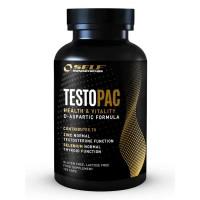 TestoPac 120 caps  - Self Omninutrition / Τεστοστερόνη