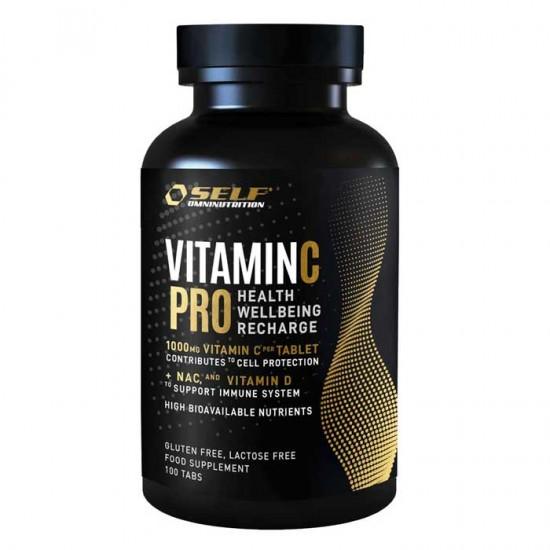 Vitamin C Pro 1000mg 100tabs - SELF Omninutrition