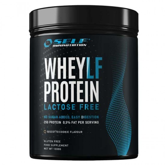 Whey LF Protein Lactose Free 1kg - SELF / Πρωτεΐνη 84% Χωρίς Λακτόζη