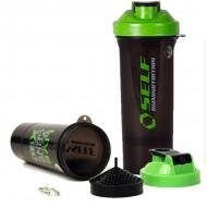 Protein Shaker Slim 500ml - Smartshake / Σέικερ Πρωτεΐνης διαιρούμενο
