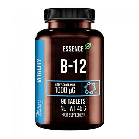 B12 Methylcobalamin 1000μg 90tbs - Essence Sport Definition
